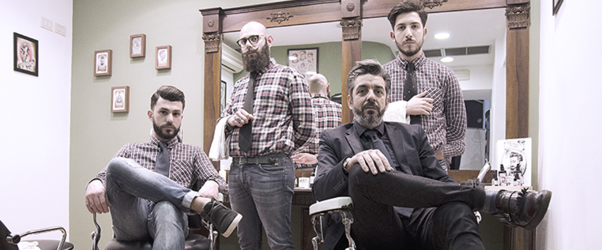 Modhair, barbiere catanese in stile vintage. Tagli anni 30, sigari e ...