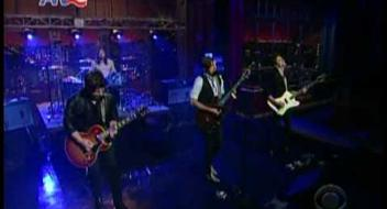 Kings Of Leon @ Letterman (HQ)